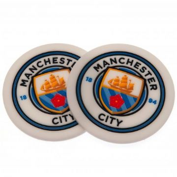 Manchester City 2 Pack Coaster Set